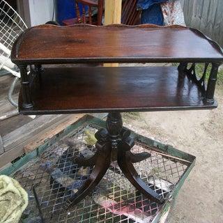 Duncan Phyfe Table Restoration