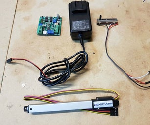 Operate an Actuator With a Linear Actuator Control Board