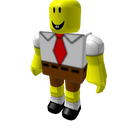How to make your guy on roblox look like spongebob *BC only*