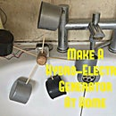 Make a Hydro-Electric Turbine From Scrap or Left Over Parts