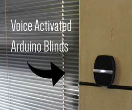 Voice Activated Arduino Blinds