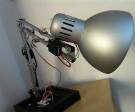 The IKEA Robot Lamp