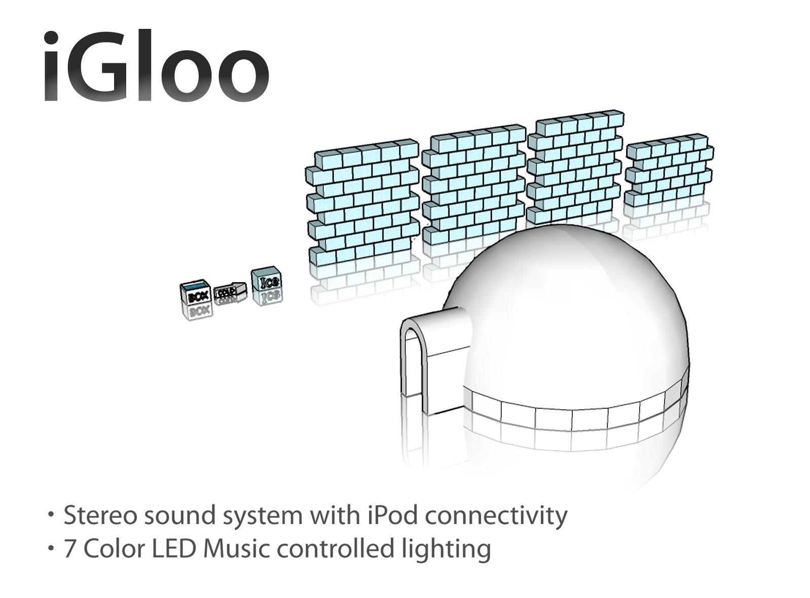Picture of IGloo- Unibody Next Generation Ice Dwelling