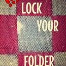 How To Lock Folder Through CMD