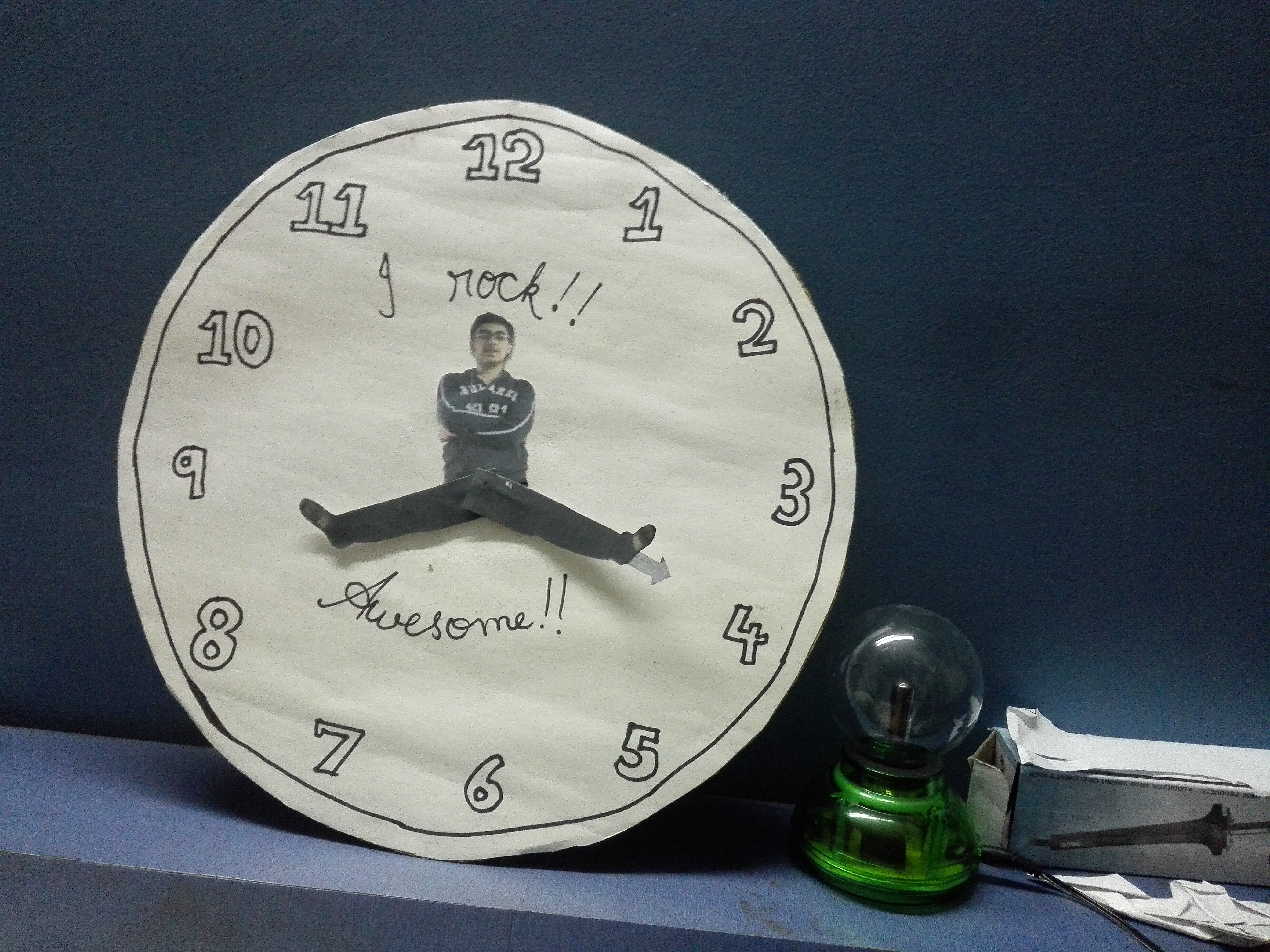 Picture of Personalize Your Clock(with Yourself)!!!