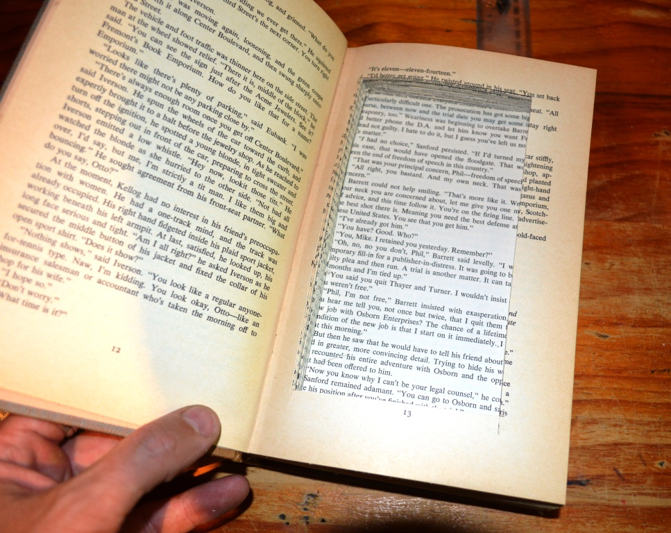 Picture of Hollowing Out Your Book - Part 1