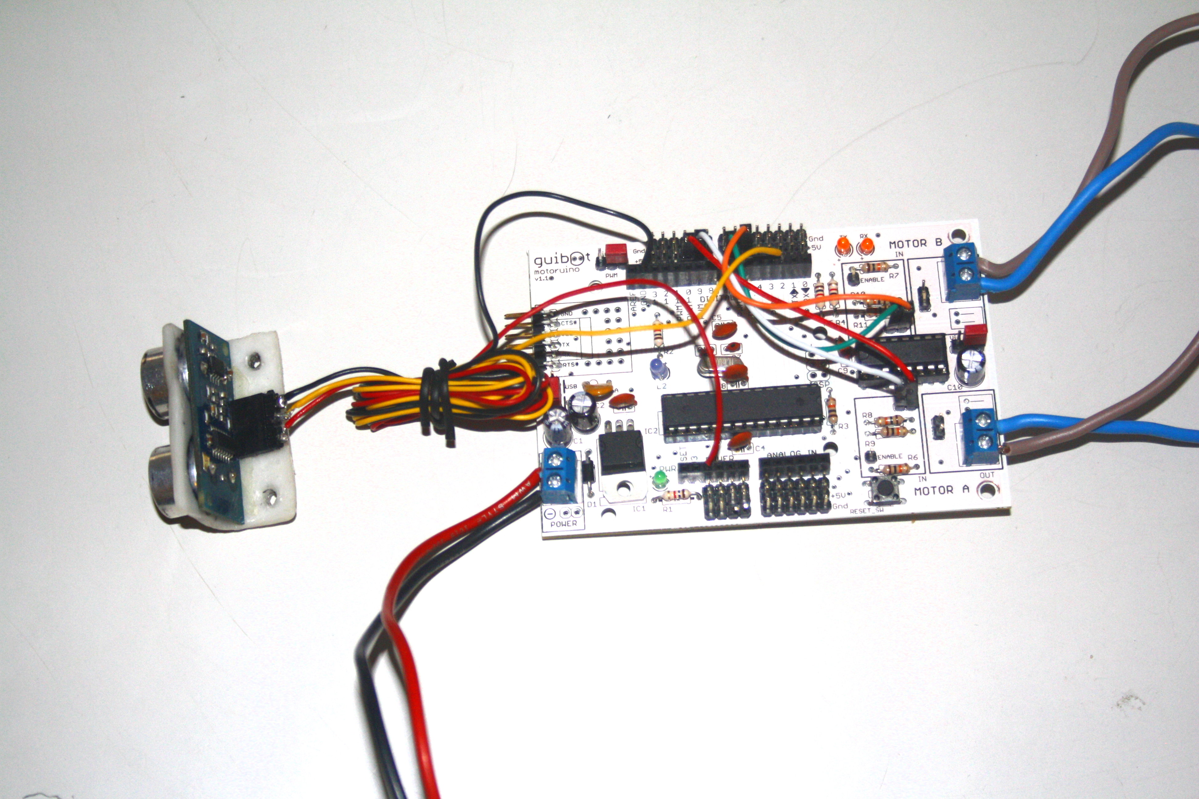 Picture of Make the Electrical Connections