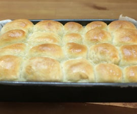 Amazing No-Knead Dinner Rolls