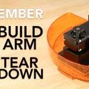 Ember 3D Printer Build Arm Teardown