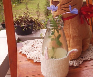 Little Bunny Bottle Cozy