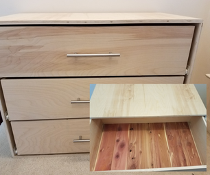 Cedar Lined Closet Dresser