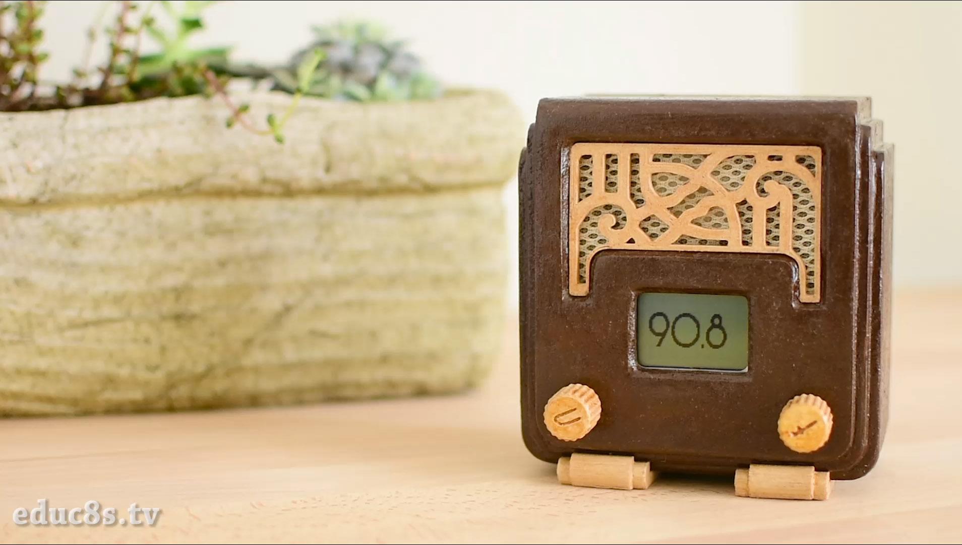 Picture of Art Deco FM Radio Project Using Arduino