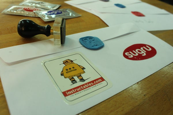 Make Personolized Envelope Seals With Sugru