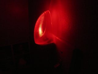 Plug-in LED Color Fading Night Light