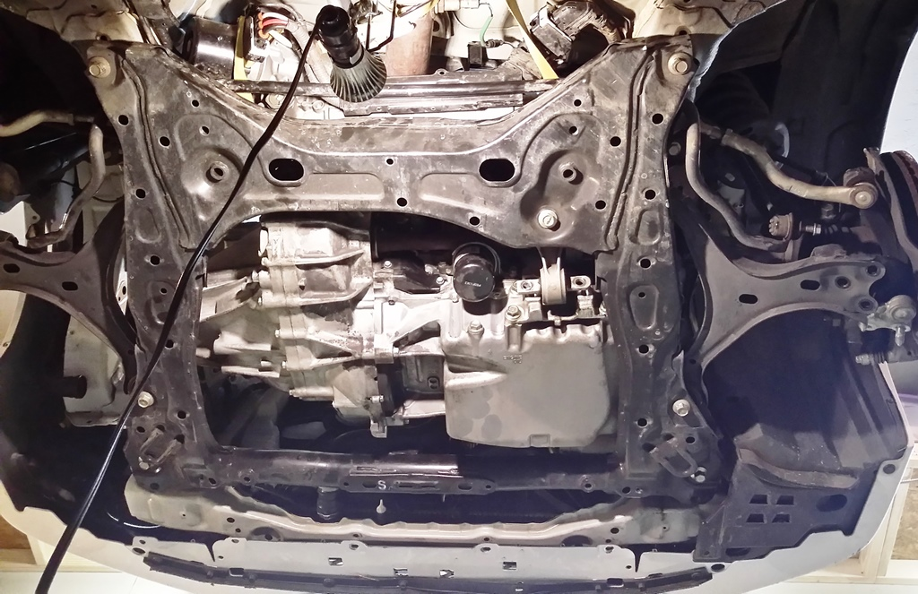 Picture of Install the Subframe