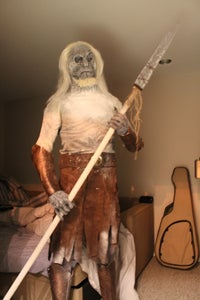 """White Walker/ Other """"Game of Thrones"""" Halloween Costume 2012"""