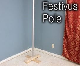 How to Make a Festivus Pole