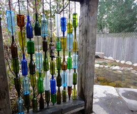 How to build a wall from recycled bottles