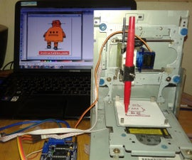 How to Make Mini CNC Router Drawing by Arduino and Shield L293D