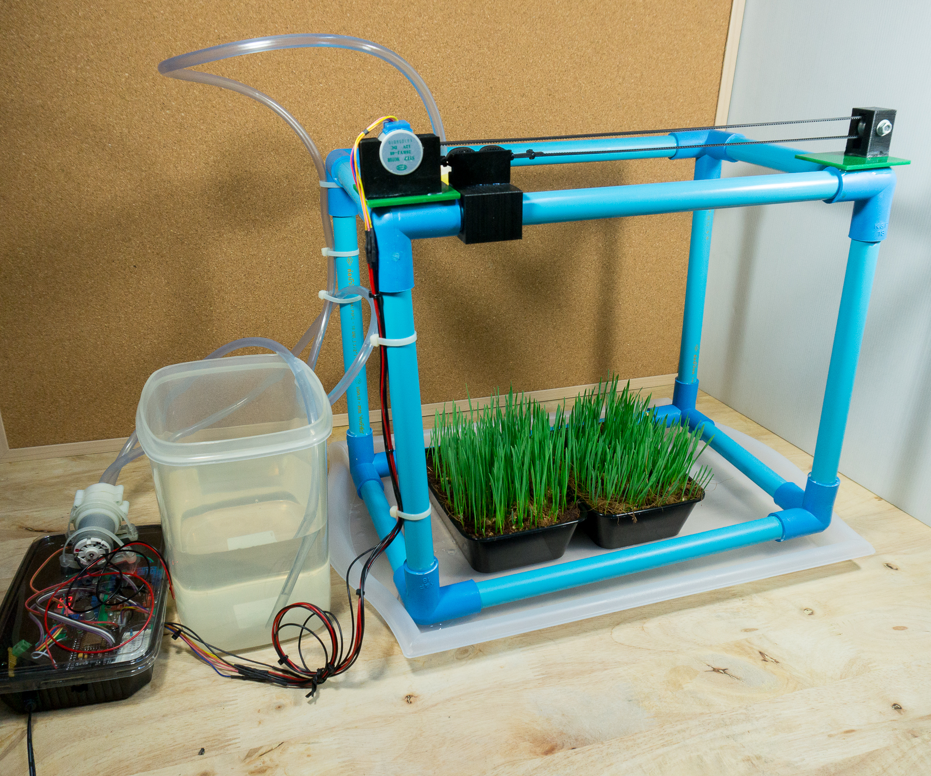 Picture of  IoT Automatic Plant Watering System
