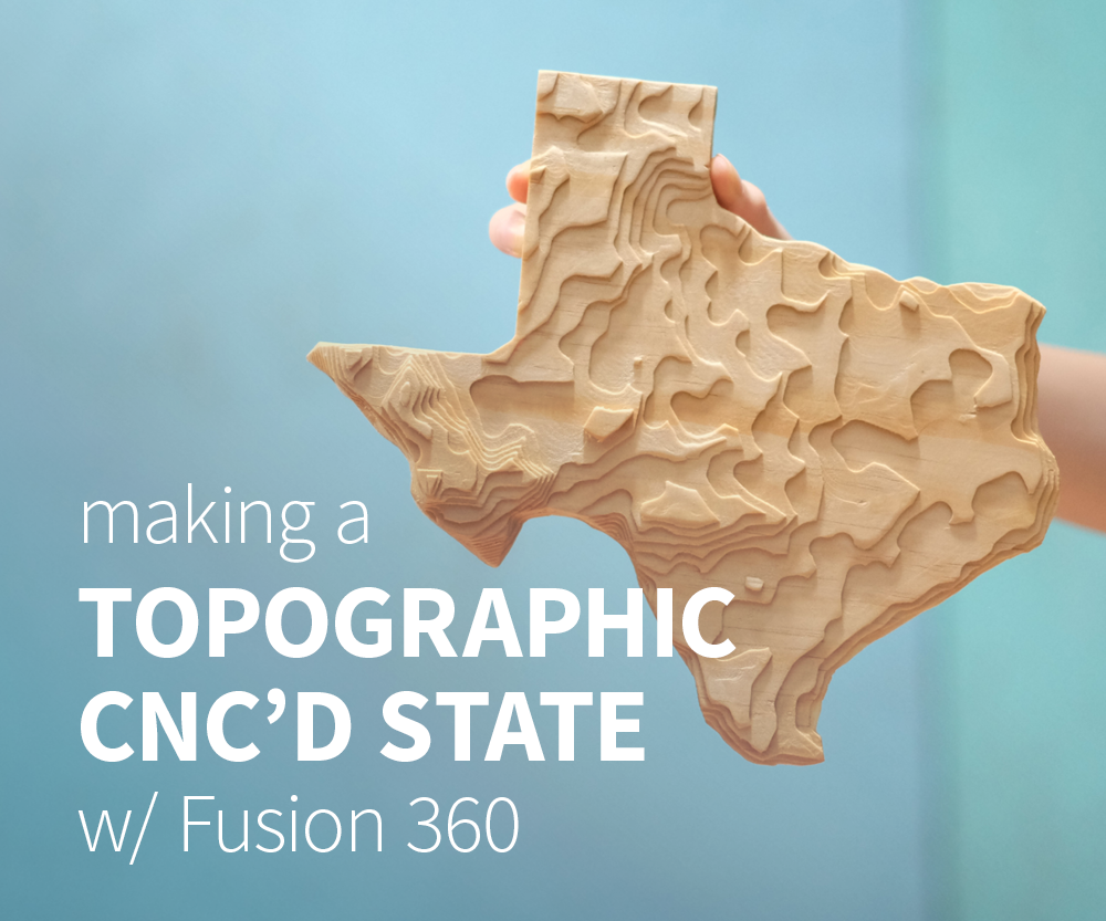 CNC Topographical Wooden State: 5 Steps (with Pictures)