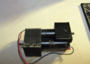 Picture of High Speed Hand (continued) Assemble Motor Assembly