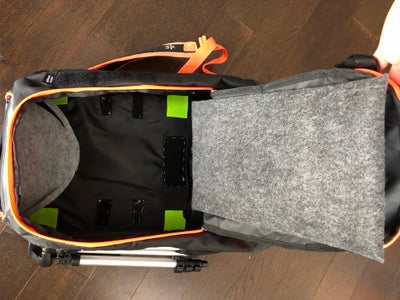 Step 5: Inferior Compartment Padding, Rear and Forward Padding
