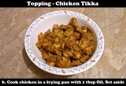 Chicken Tikka Topping