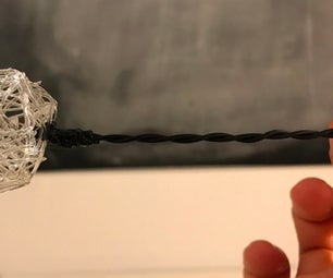 Miniature Working Modern Pendant Light