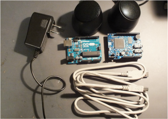 Picture of Untethered Speech Recognition and Speech Synthesis With Arduino