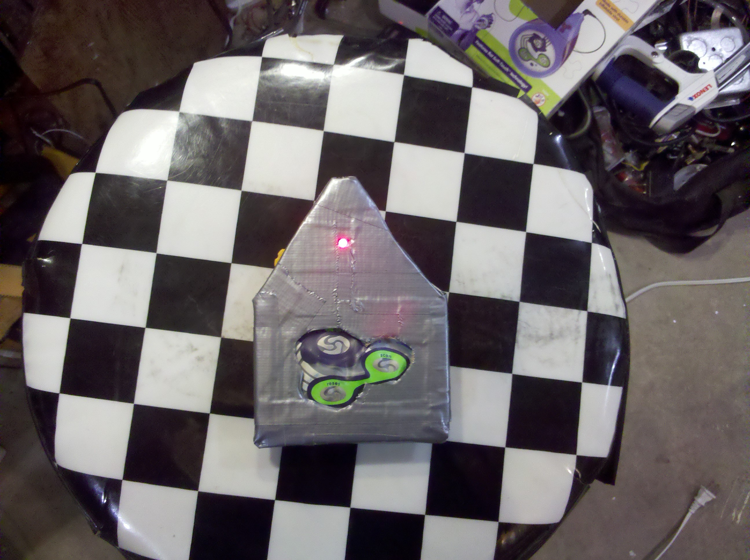 Picture of The Duck Tape Radio.