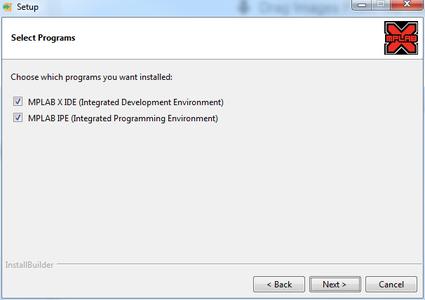 Mplab ipe x v.5.15 programer to go how