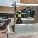 Palletwood beer carrier