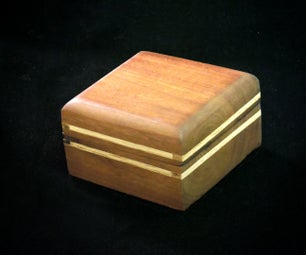 A Solid Wood Gift Box