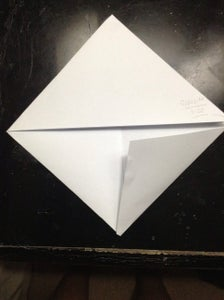 Then Fold the Paper to Make It Look Like a Square