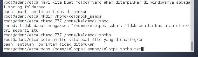 Picture of Buat Folder Untuk Di Share