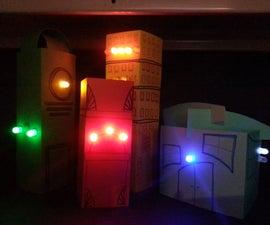 LED Buildings