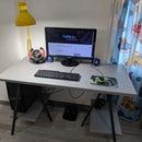 Building an IKEA LERBERG Computer Desk