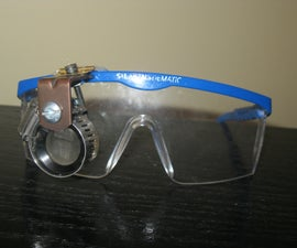 Safety Goggles with Magnification Lens
