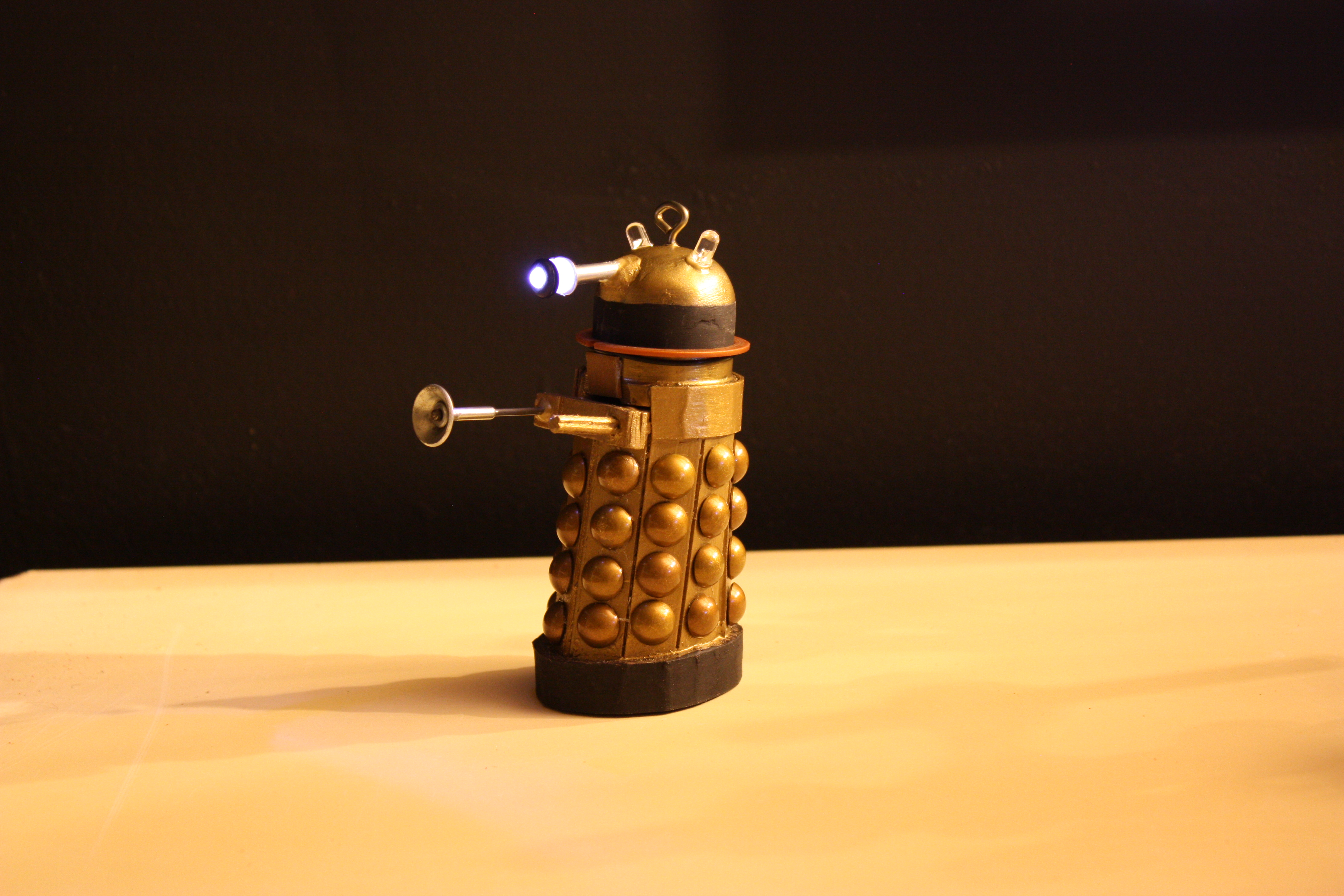 Picture of Finished Dalek Ornament