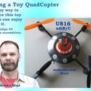 Flying a toy QuadCopter