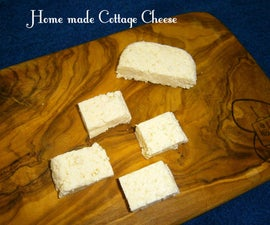 Home made Cottage Cheese (Paneer)