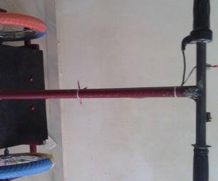 KASHUP-wheels a Hybrid Segway