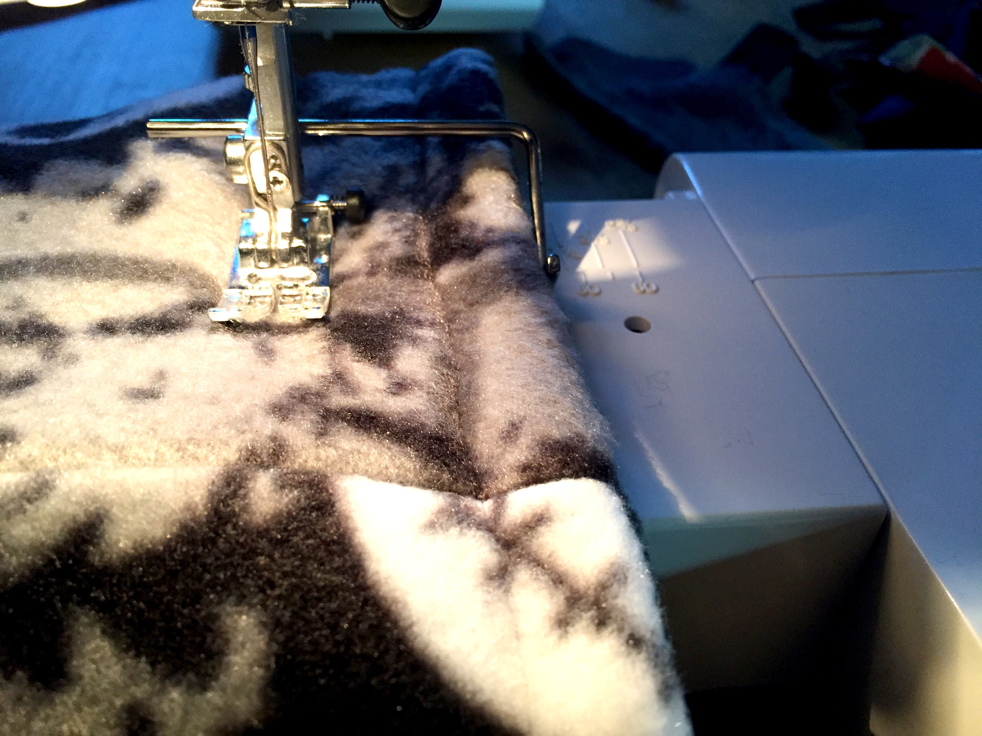 Picture of Sew a Channel for the Drawstring