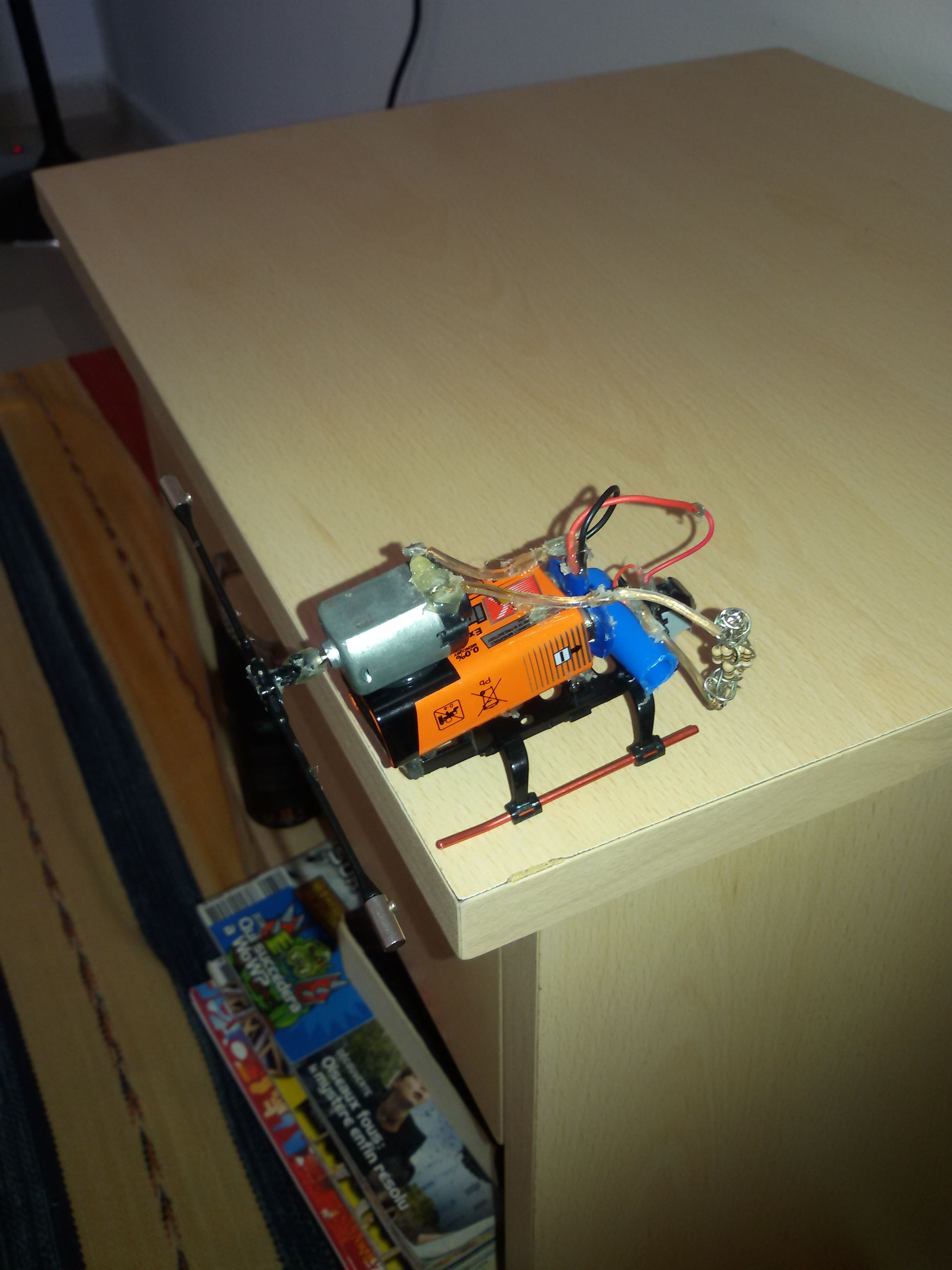 Picture of Electro-Gyroscope (Kind Of)