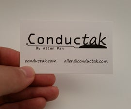 Conductak Business Card Flashlight!