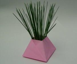 Pyramid Origami Box