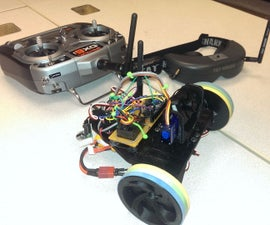 First Person View RC Robot!