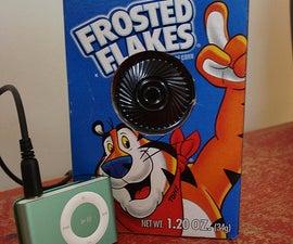 Make an iPod Speaker from a Hallmark Music Card