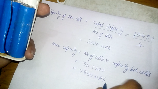 Calculation for New Capacity of Bank